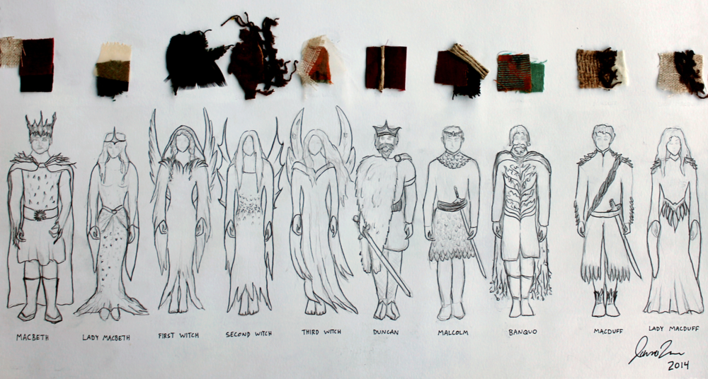 Character Analysis For Costume Design : Macbeth costume design jaina town