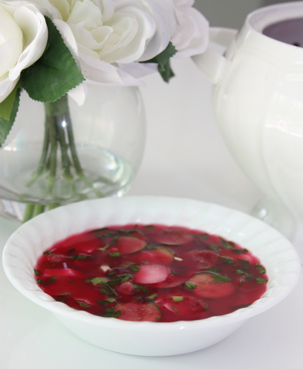 beetroot cold soup