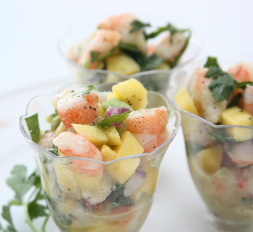 shrimp seafood mango ceviche