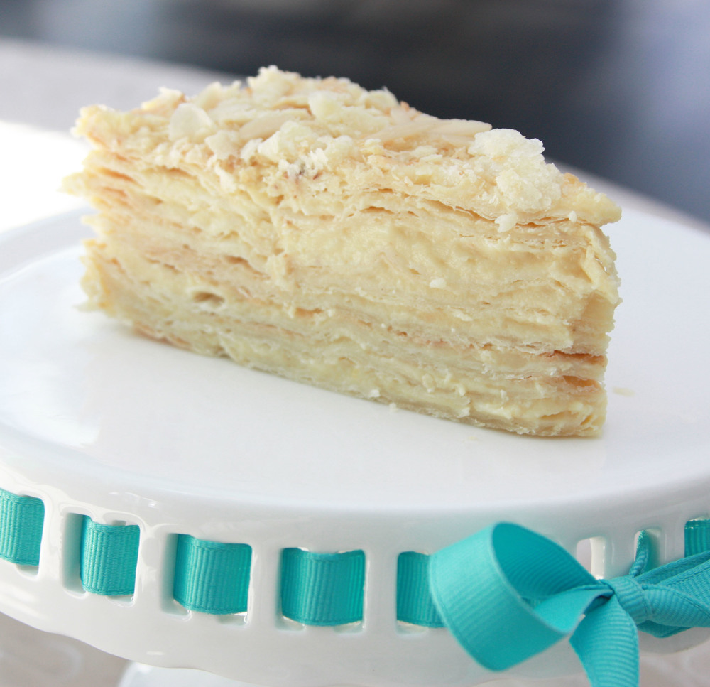 napoleon cake cream pie baked