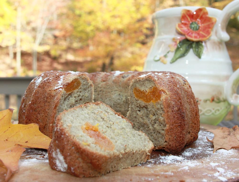 gluten free cake apricots