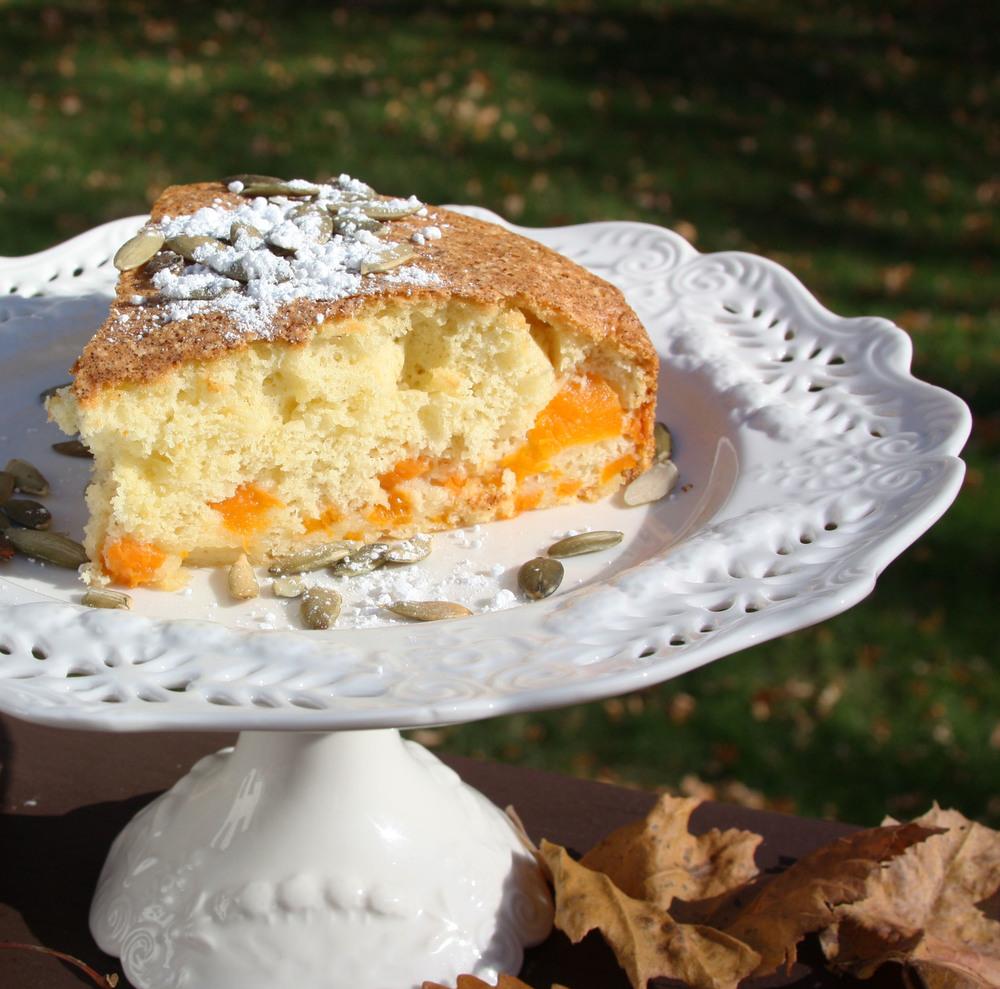 pumpkin pie sharlotka cake