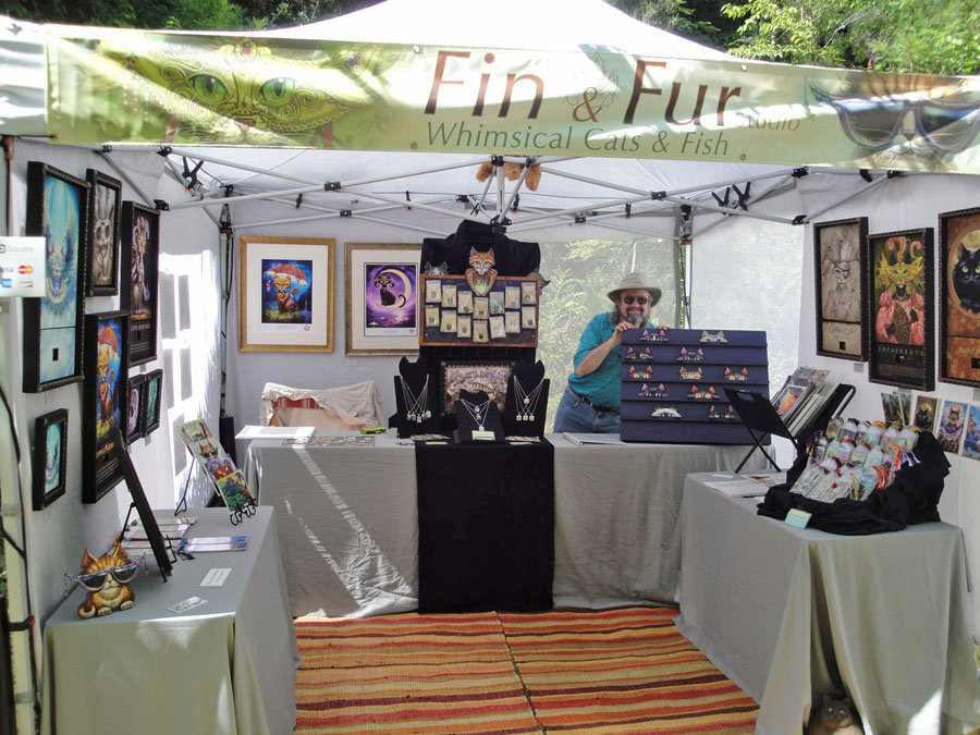 My art festival booth