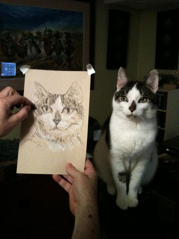 Chunky my artist model