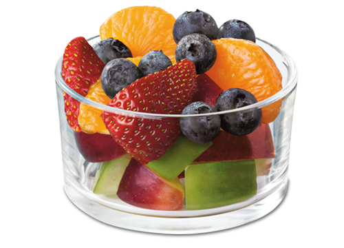 fruit cups meat and fruit diet