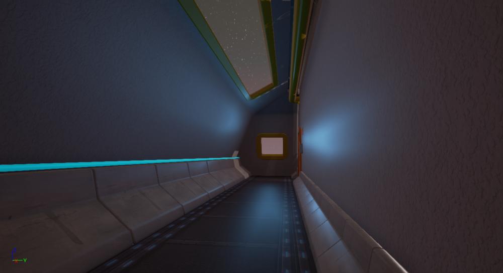 Corridor Shot