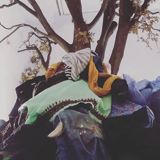 Ready with a big pile of bits n pieces for Frankenclothes as part of Greater Together at @acca_melbourne  Today!! 11.30-2 . . . #justsayin #art #melbourne #melbourneart #melbourneartist #melbournetodo #freeevent #thingstodoinmelbourne #participation #interaction #contemporaryart #discussion #acca