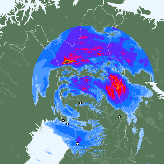 Weather,a rare summer storm is hitting soon Finland,rising from the North, snowing is possible! Video:http://yle.fi/uutiset/harvinainen_kesamyrsky_iskee_pian__ei_laheskaan_joka_kesa_tallaista_suomeen_osu/8938907