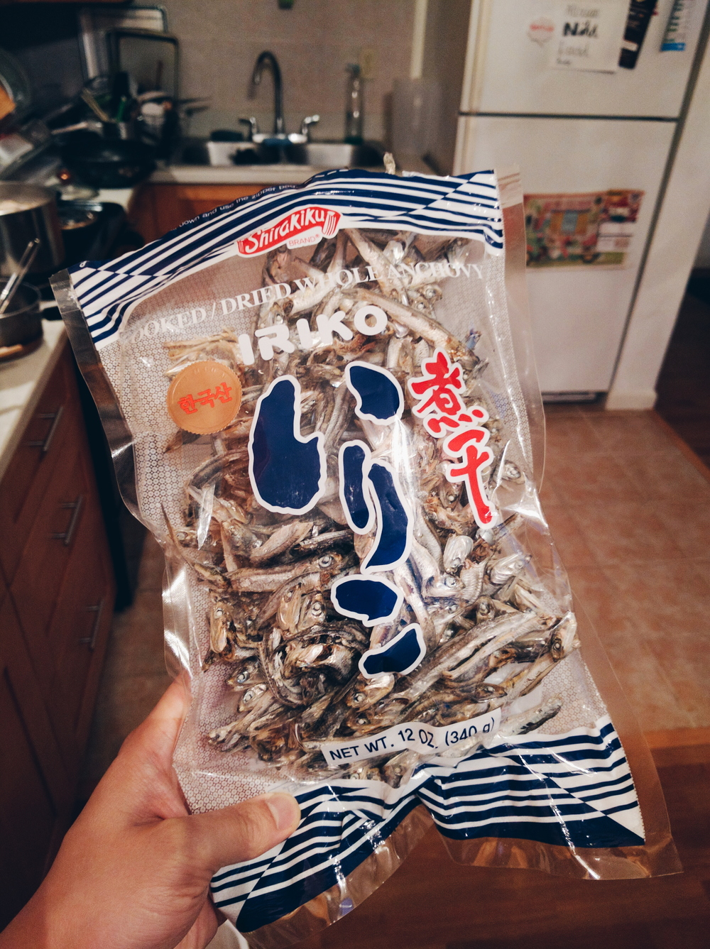 Niboshi or dried anchovies give you a great boost in umami.