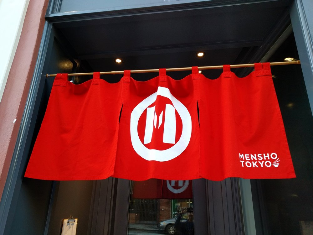 Opening day of Mensho Tokyo in SF.