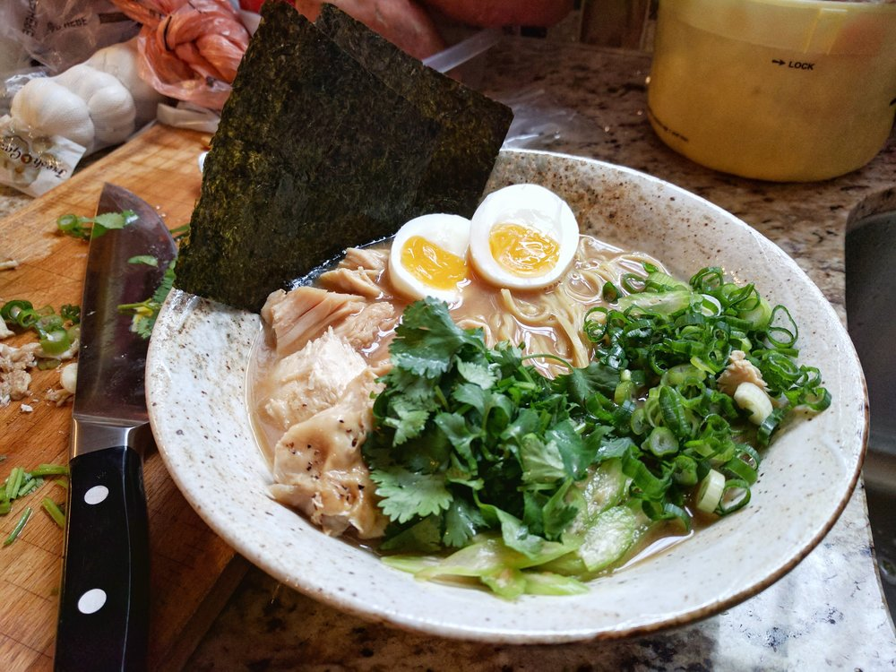 Thanksgiving Ramen 2016 - Turkey Miso Ramen