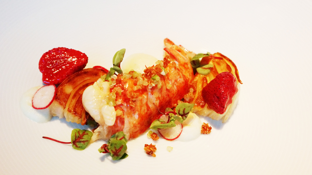 Maine Lobster, Poached in Salted Butter