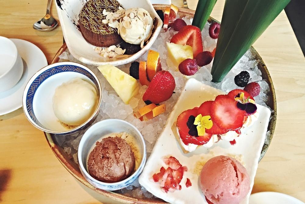 谁看了都心动的dessert platter