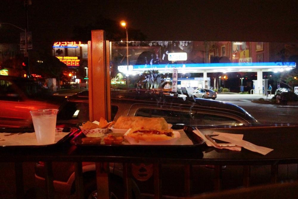 Meal No. 4:Lucha Libre Gourmet Taco Shop at San Diego