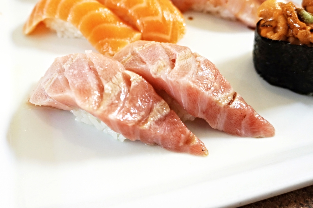 Seared Toro Nigiri