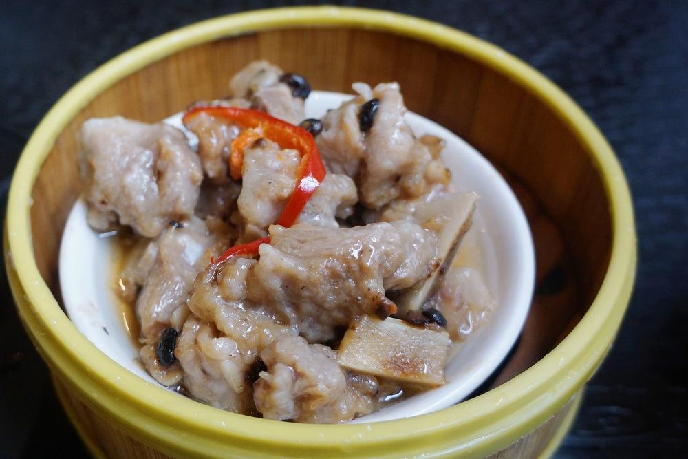 Black Bean Sauce Spareribs 香芋豉汁排骨