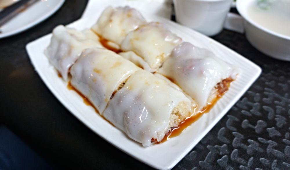 BBQ Pork Rice Crepe Roll 叉烧金刚肠: 肠粉最重要看皮?