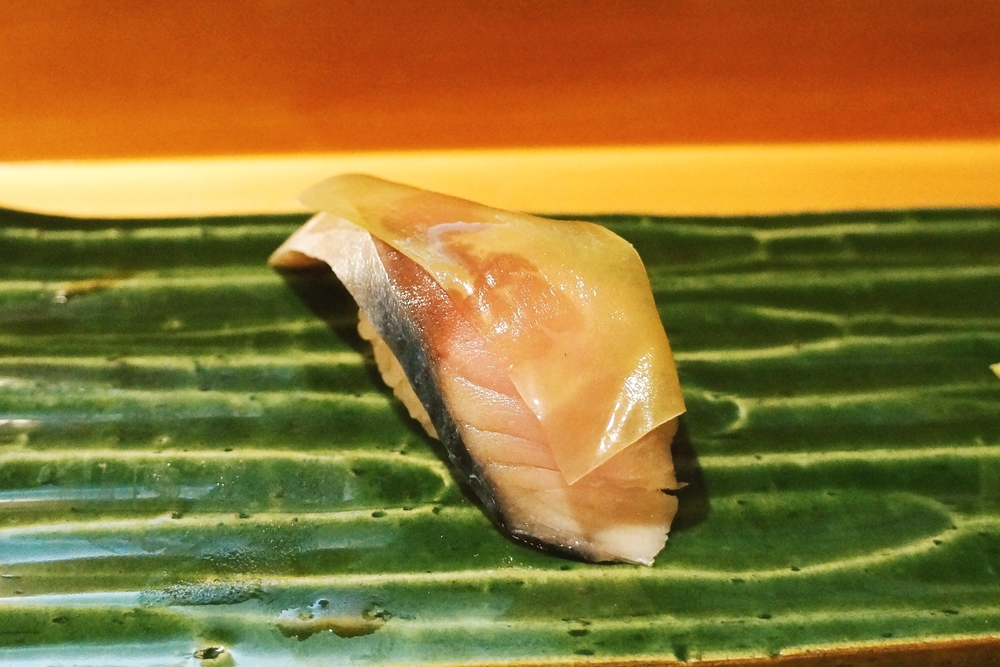 Saba (Norway, Marinated mackerel) $4/pc