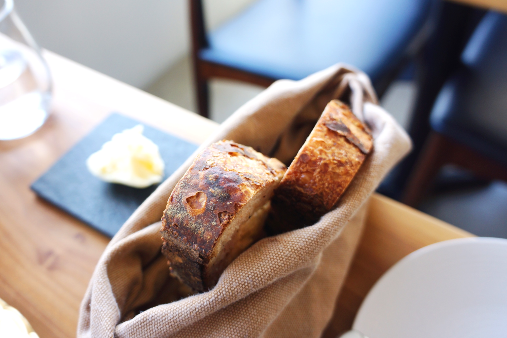 Complimentary house made bread&butter