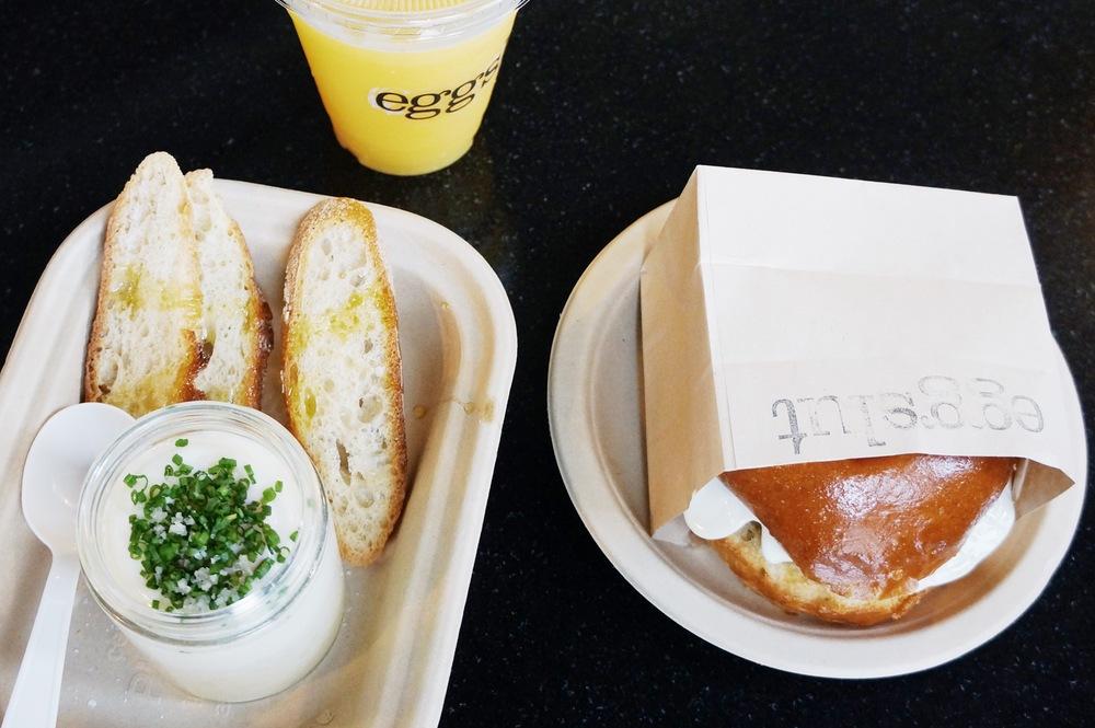 左边是大名鼎鼎的slut本人,罐子里就是蒸蛋+一层土豆泥 还是很新鲜的