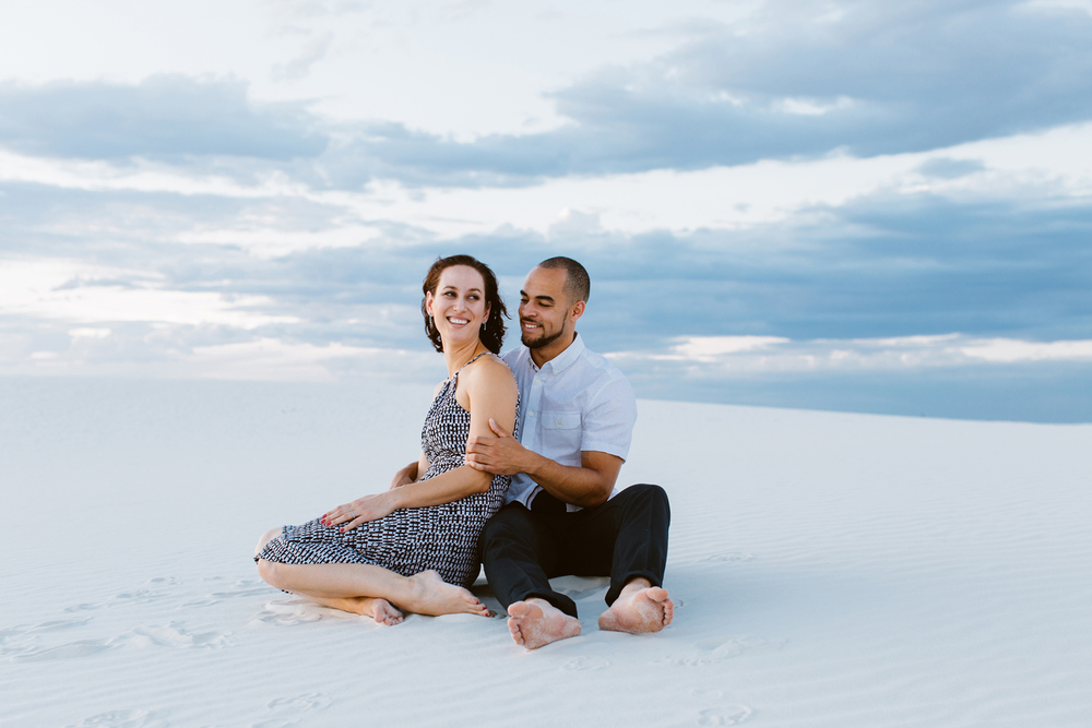White Sands Engagement Photographer