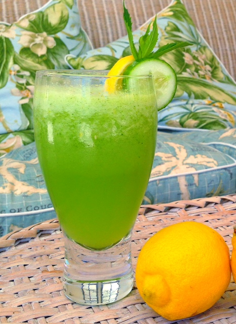 alkalising lemonade