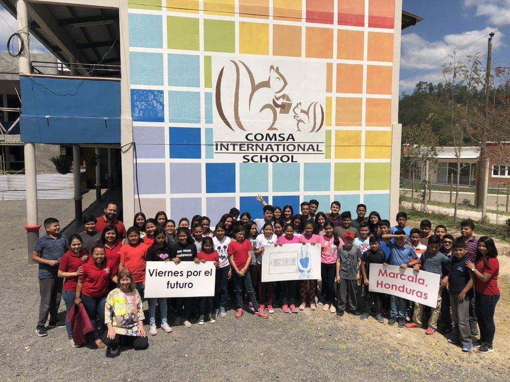 Fridays For Future Global Strike Marcala Honduras