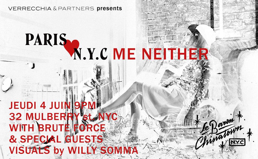 Paris Loves N.Y.C at Le Baron 2015