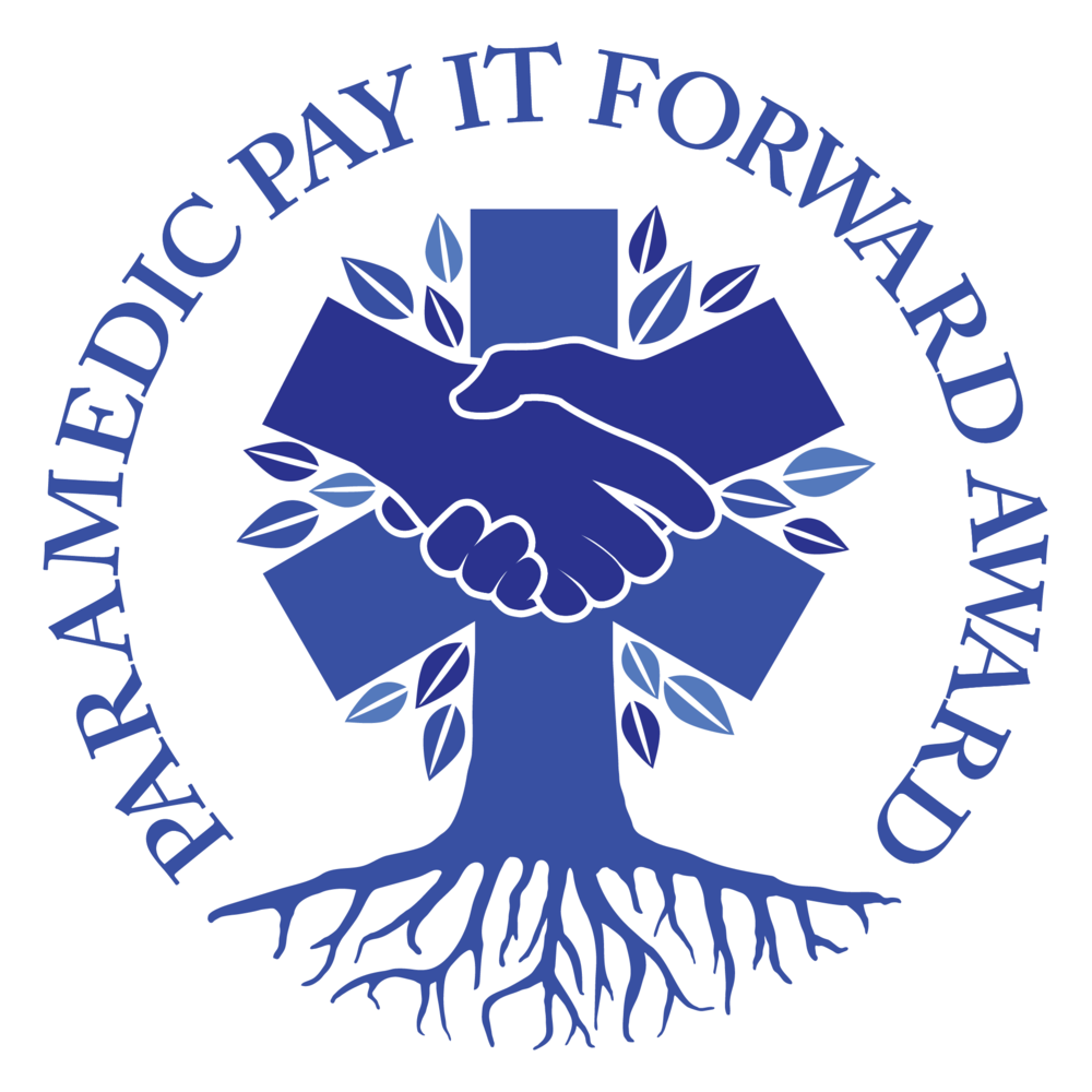 Paramedic Pay It Forward Award Logo