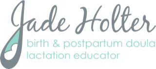 Jade Holter Certified Birth and Postpartum Doula, Lactation Educator