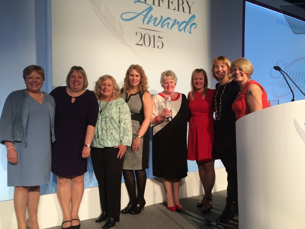 Royal College of Midwives Award Winners! 'Putting Evidence into Practice'