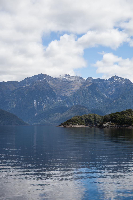 Detours Magazine. Manapouri lake