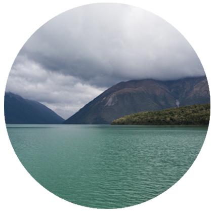 Detours Magazine .  Lac Rotoiti
