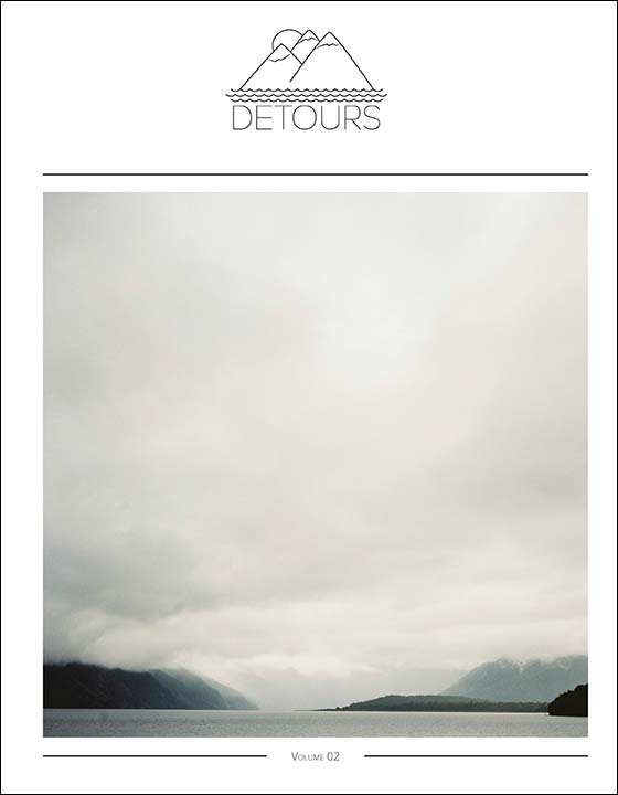 Detours Magazine . Volume 01 . couverture
