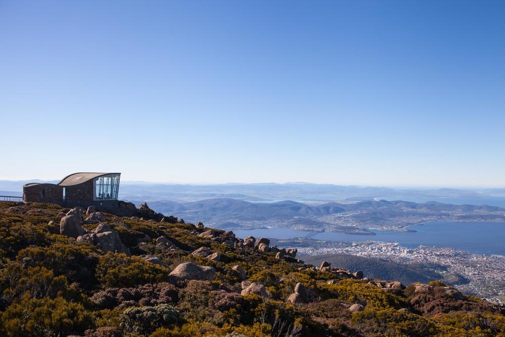 © Détours Magazine . Tasmanie, Australie . Hobart . Mt Wellington