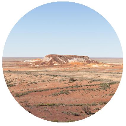 © Détours . Australie . South Australia . The Breakaways