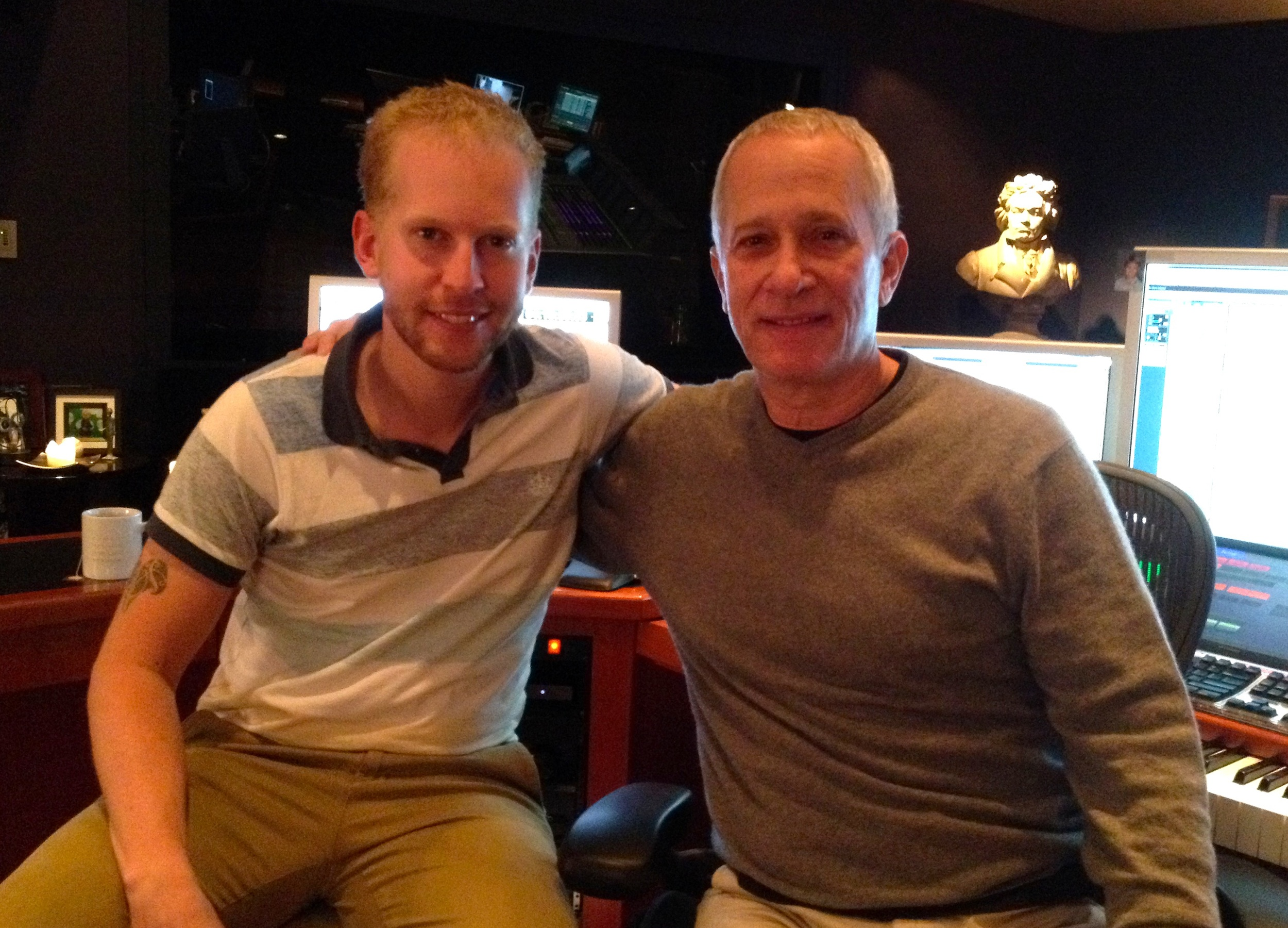 With James Newton Howard
