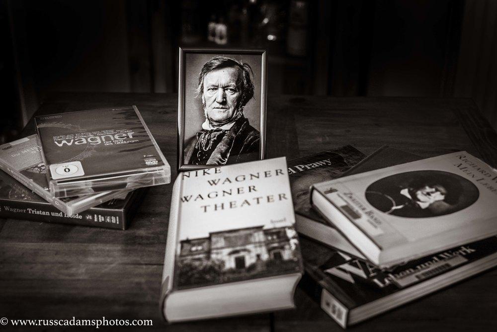 Der Schreibtisch eines Wagnerianers
