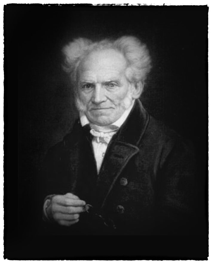 Arthur Schopenhauer um 1855
