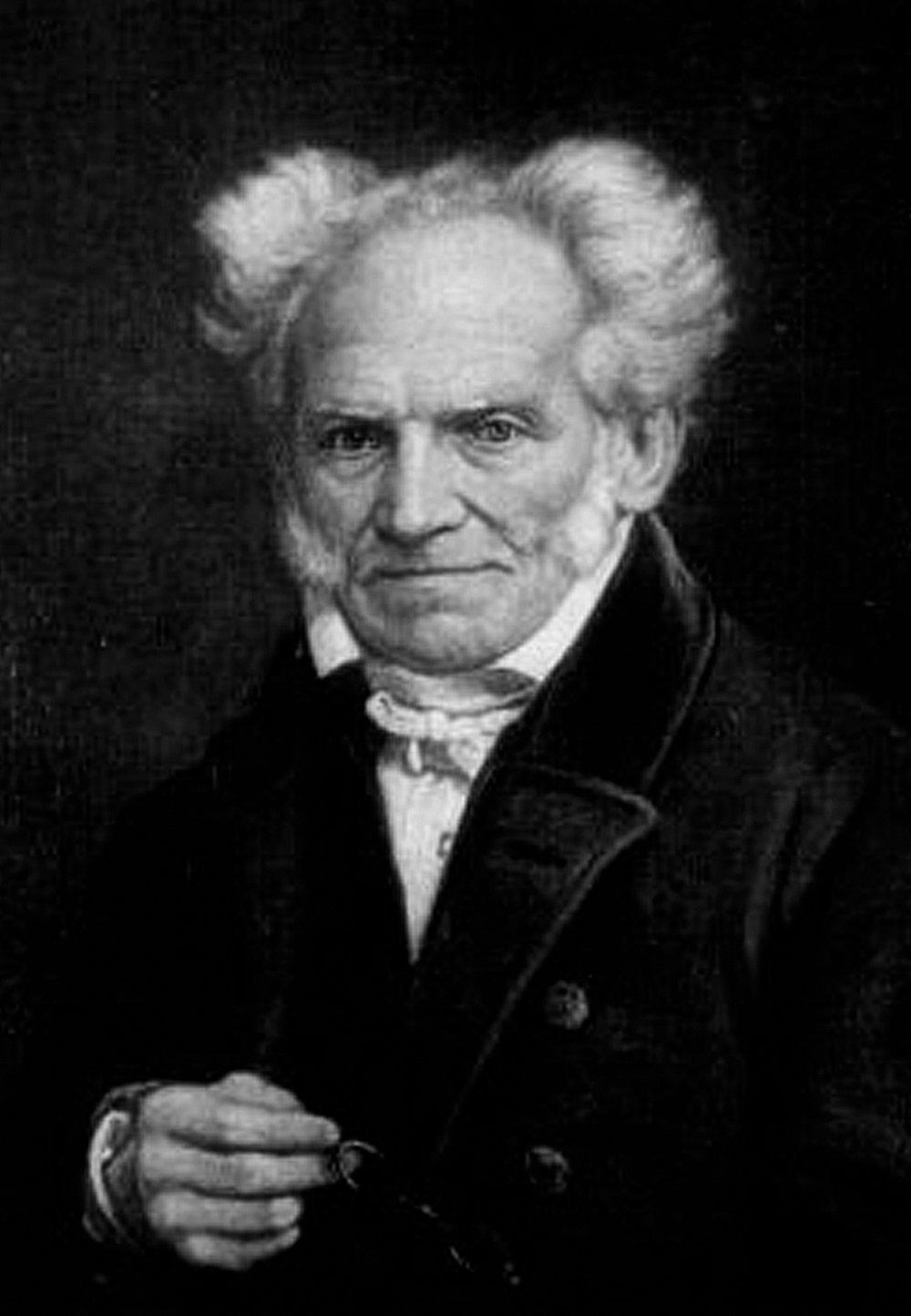 Arthur Schopenhauer um 1855, Foto: Jules Lunteschütz (1822–1893), © Gemeinfreies Werk