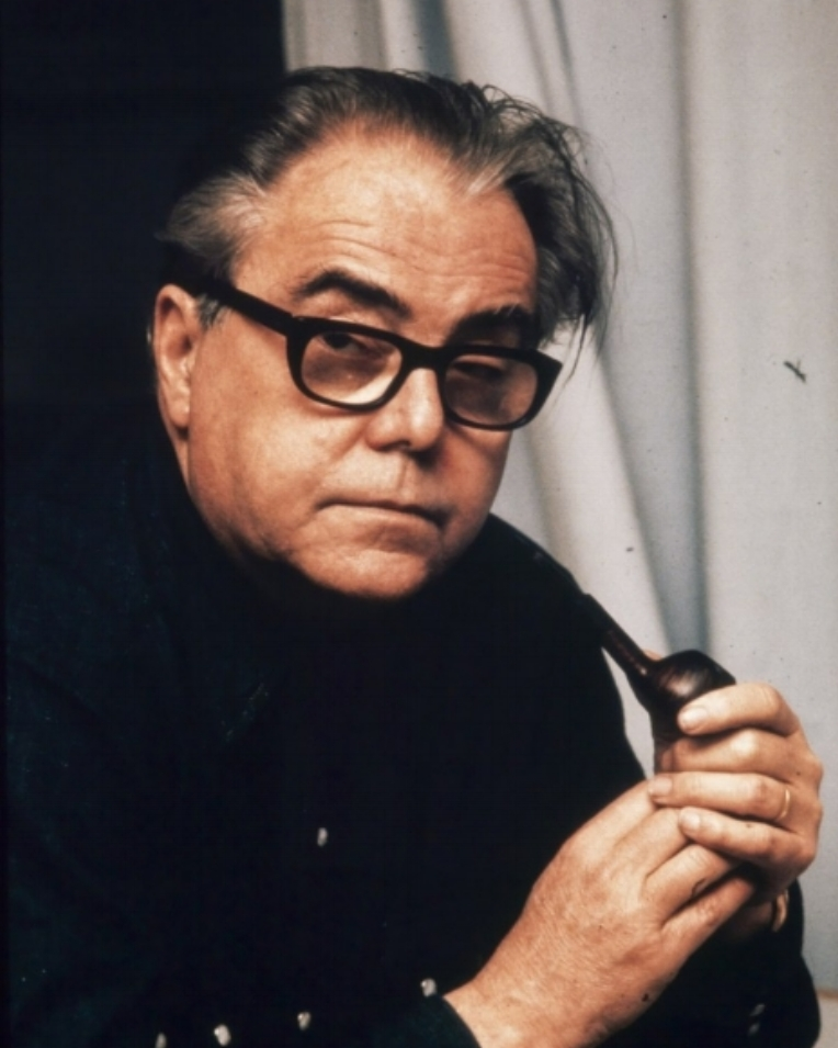 Bild: Max Frisch ca. 1974. Quelle: Comet Photo AG Zürich. This file is licensed under the  Creative Commons   Attribution-Share Alike 4.0 International  license. Linkt to source:  http://doi.org/10.3932/ethz-a-000654914