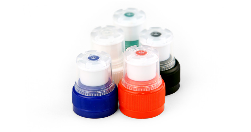 Plastic sports caps - a wide range of standard colours are available - bespoke colours available
