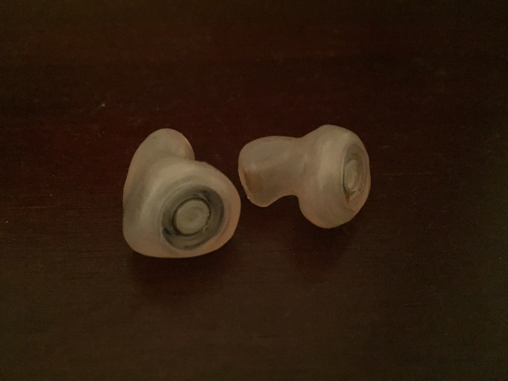 ER 15's custom made Ear Plugs