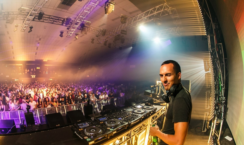 Jerome Isma-ae at Cosmic Gate Start To Feel Tour, Festival Hall Melbourne