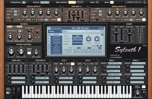 Sylenth 1 synthesizer