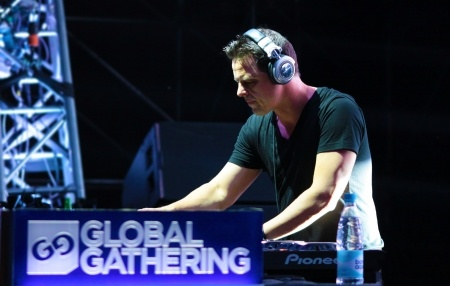 Markus Schulz at the Global Gathering Festival