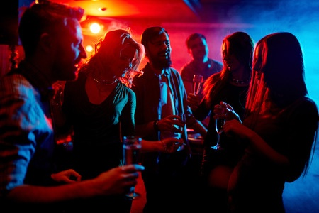 People networking in a nightclub 450 x 300