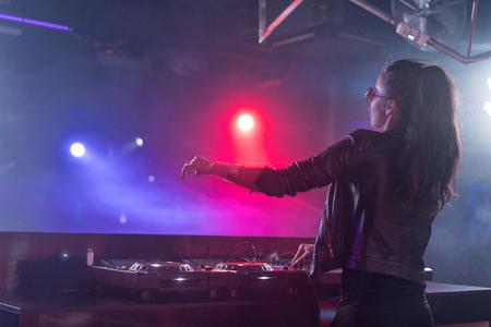 Women DJ in a Nightclub 450 width x 300 Height