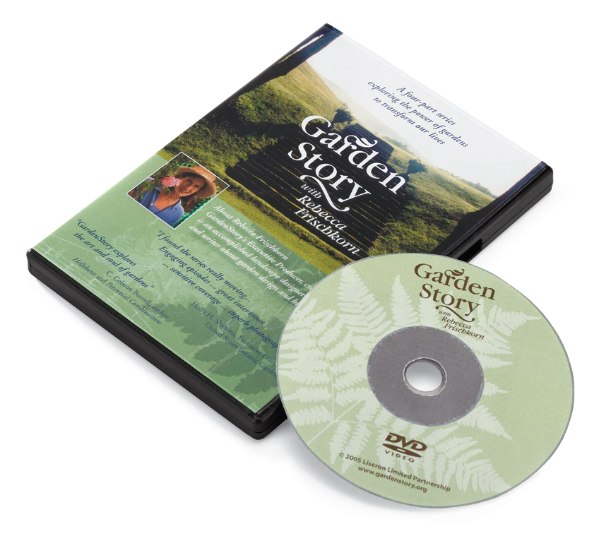 Garden story DVD package design