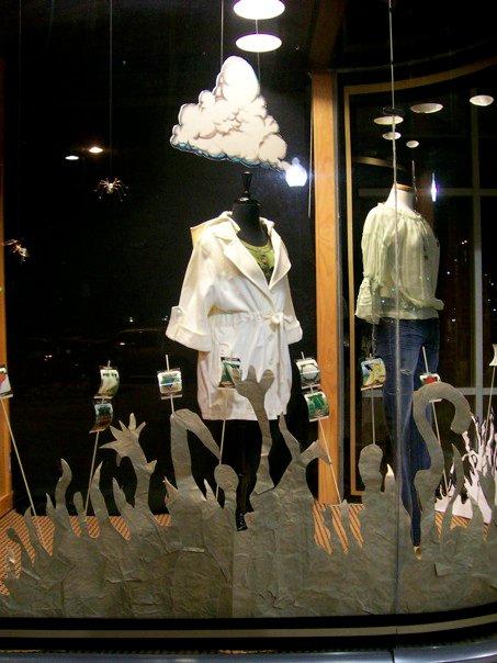 Window display construction & installation